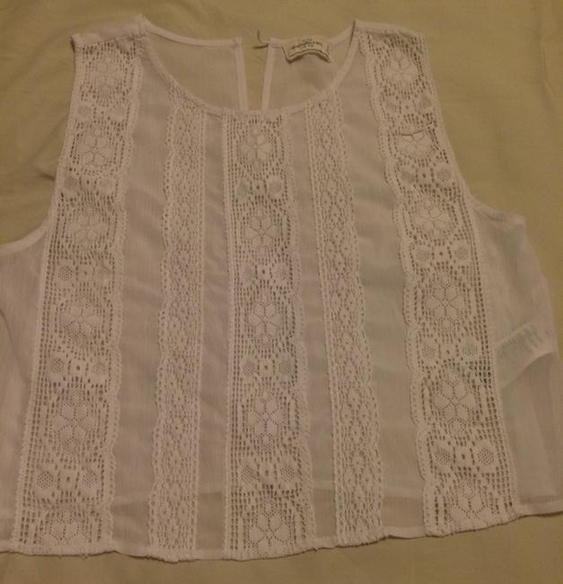 Abercrombie & Fitch Top White