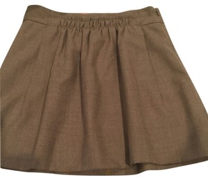J.Crew Mini Skirt tan