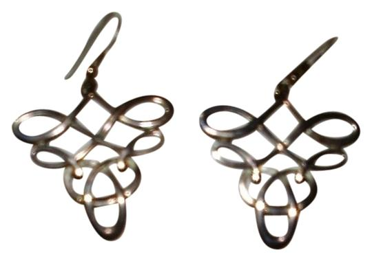 Artisan crafted Drop earrings, Scottish design, made on Orkney Islands