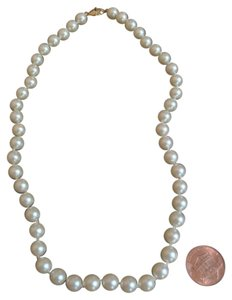 Other Pearl Necklace with Gold Clasp