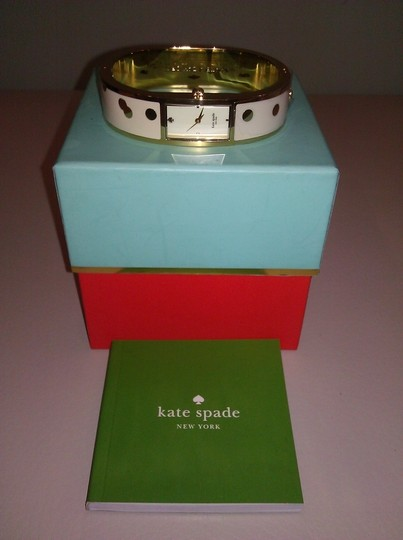 Kate Spade New! Kate Spade Confetti Carousel Gold-Tone Bangle Watch