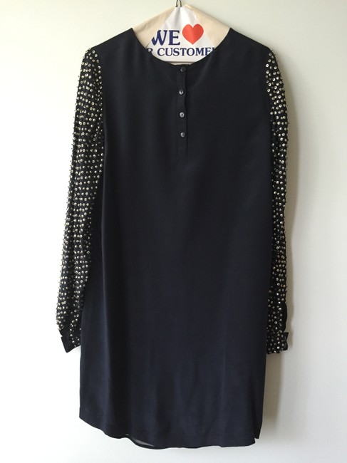 French Connection Party Sequin Silk Dress