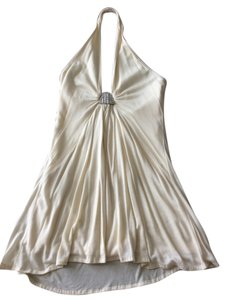 Bordeaux Jewelled Halter Top Cream