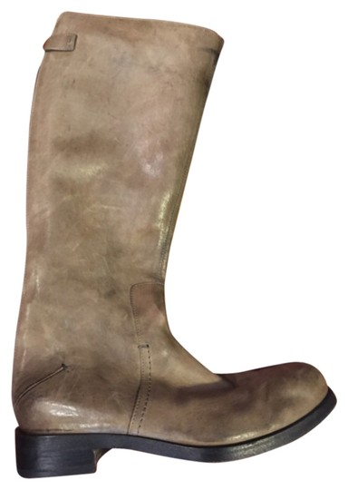 CoSTUME NATIONAL Taupe Boots