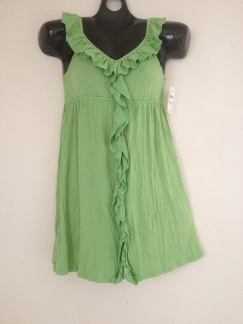 Ella Moss short dress Green Top Nordstrom Small Medium Summer on Tradesy