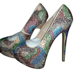Steve Madden Multicolored Pumps