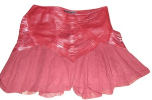 JAAGA Mini Skirt BURGUNDY