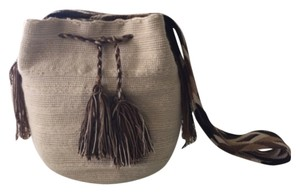 Wayuu Tribe Beige And Brown Messenger Bag