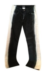 Chanel Straight Leg Jeans-Coated