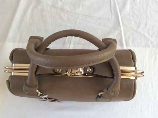 Mira Collection Satchel in Brown
