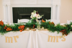 BHLDN Gold Mr. and Mrs. Chair Signs