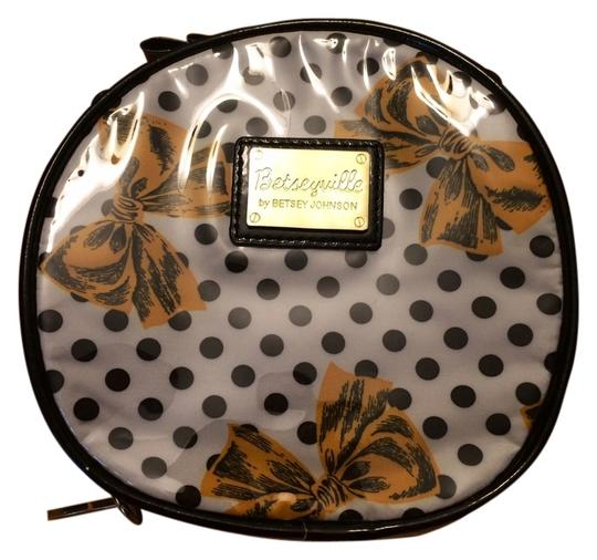 Betseyville Polka Bow Betsey Cosmetic Case