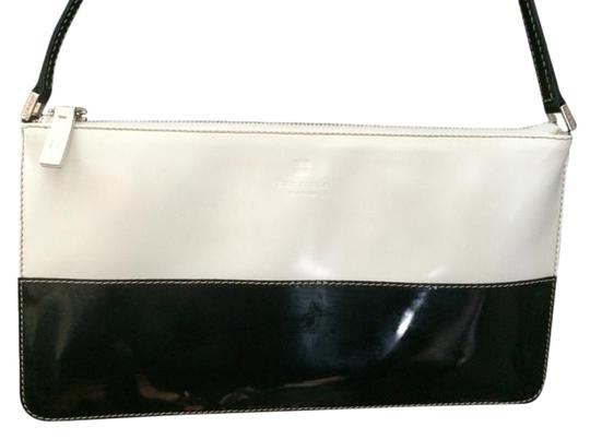 Kate Spade Back and White Clutch