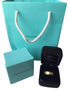 Tiffany & Co. Tiffany & Co. 18K Yellow Gold Atlas Ring *Includes Boxes & Bag!*