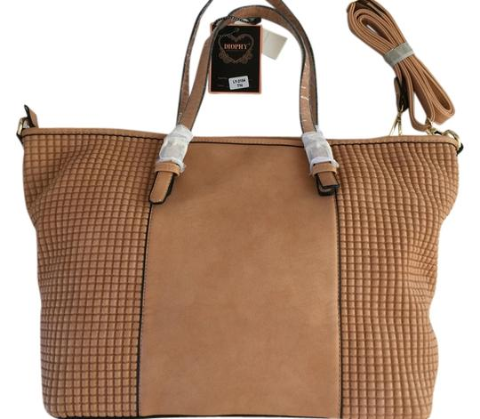Diophy Tote in Tan