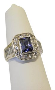Technibond Technibond Lab Created Tanzanite Ring 7""
