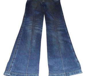 Just Cavalli Flare Leg Jeans-Distressed
