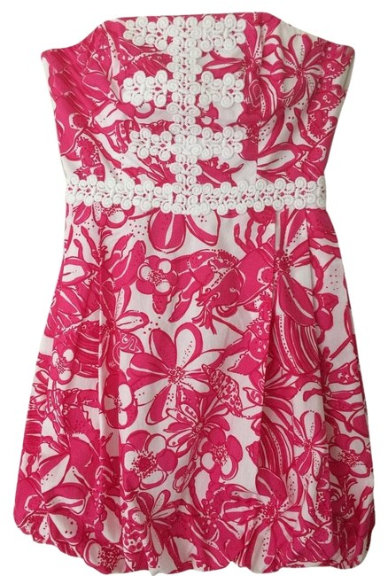 Preload https://item1.tradesy.com/images/lilly-pulitzer-pink-and-white-regency-above-knee-cocktail-dress-size-0-xs-5650765-0-1.jpg?width=400&height=650