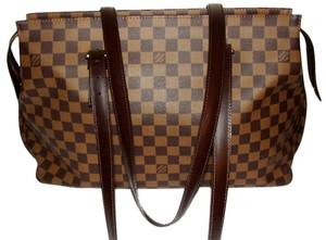 Louis Vuitton Chelsea Chelsea Damier Canvas Ebene Shoulder Bag