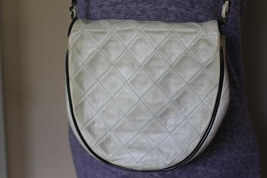Chanel Vintage Quilted Chain Shoulder Clutch Leather Classic Cross Body Bag