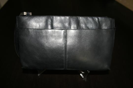 Kenneth Cole Leather Black Clutch