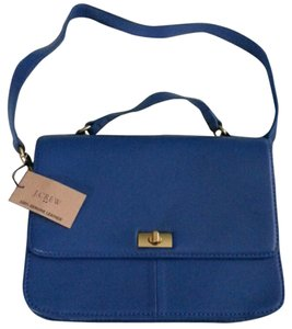 J.Crew Blue Iconic New Newwithtags Classy Ladylike Classic Shoulder Bag