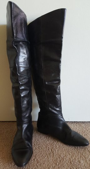 Candela Vero Cuoio Tall Leather Flat Tall Fall Leather Leather Vero Cuoio Black Boots