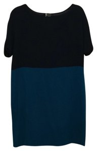 Sparkle & Fade short dress Navy blue on Tradesy