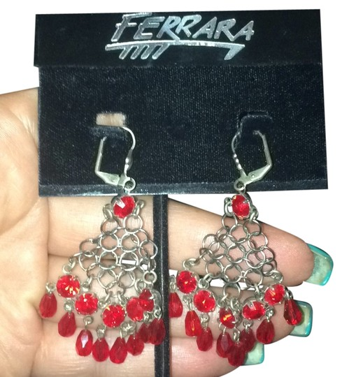 Other Designer Mesh and Crystal Earings