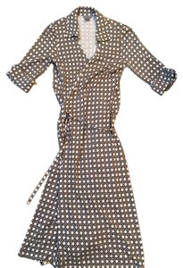 Banana Republic Wrap Modern Print Dress