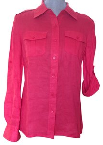 Tory Burch Button Down Shirt Carnival
