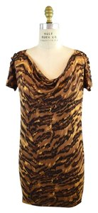 Diane von Furstenberg short dress Animal on Tradesy