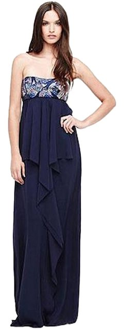 Preload https://item3.tradesy.com/images/nicole-miller-navy-thistle-sequin-strapless-gown-12-eg0004-long-formal-dress-size-2-xs-5653927-0-0.jpg?width=400&height=650