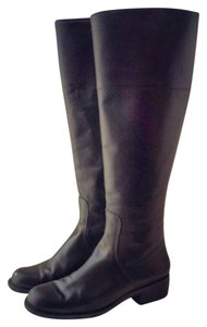Talbots Leather Face black Boots