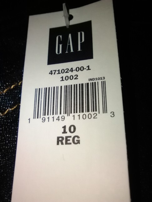 Gap New With Tags Boyfriend Cut Jeans-Medium Wash