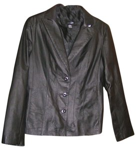 East 5th Essentials Leather Casual Coat Leather Jacket