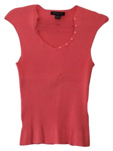 August Silk Top Coral