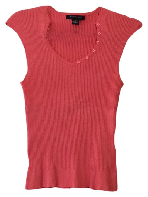 Preload https://item1.tradesy.com/images/august-silk-top-coral-5654125-0-0.jpg?width=400&height=650
