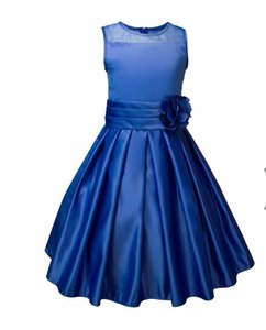 Royal Blue Elementary Graduation Dress Dress