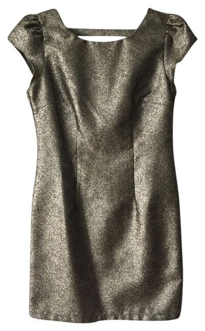 Ladakh Low Back Metallic Dress