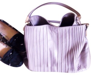 Coach Satchel in Lavander/gray