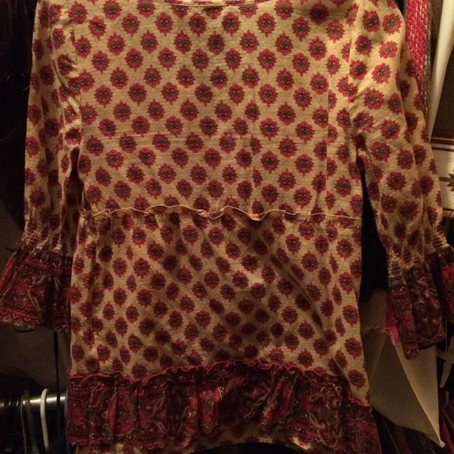 Juicy Couture Top Tan and Pink