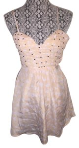 Angel Biba short dress Pink Sparrow A-line Sweatheart Empire Waist on Tradesy