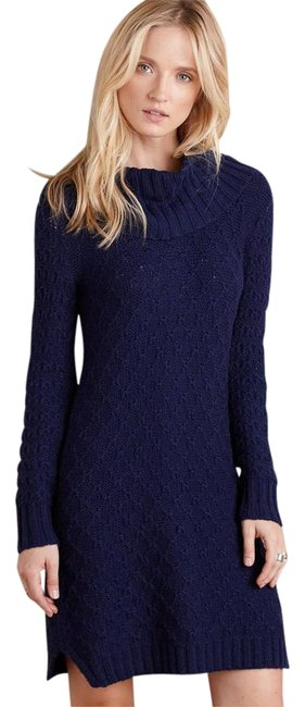 Preload https://item1.tradesy.com/images/anthropologie-navy-cowled-sweater-by-moth-above-knee-short-casual-dress-size-2-xs-5656090-0-5.jpg?width=400&height=650