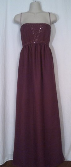 Eden Red Formal Bridesmaid/Mob Dress Size 8 (M)