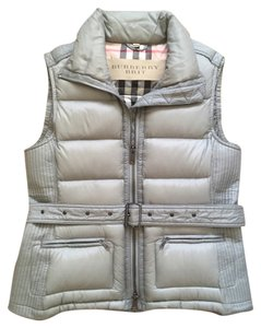 Burberry Brit Goose Down Gray Vest
