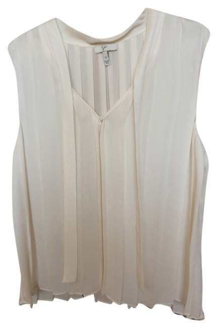 Preload https://item3.tradesy.com/images/joie-ivory-blouse-size-4-s-5656837-0-0.jpg?width=400&height=650