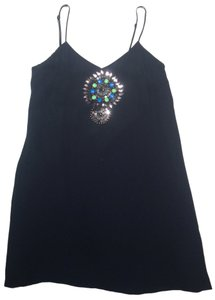 Tibi Beaded Silk Dress