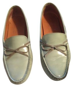 Salvatore Ferragamo Mint Green Flats
