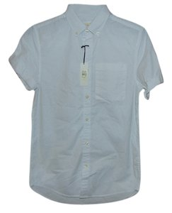 River Island Button Down Shirt White